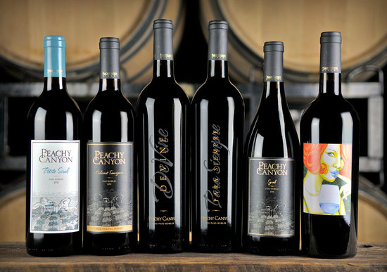 Peachy Canyon Winery: Award-winning Zinfandel, Syrah, Cabernet Sauvignon, Malbec, and more!