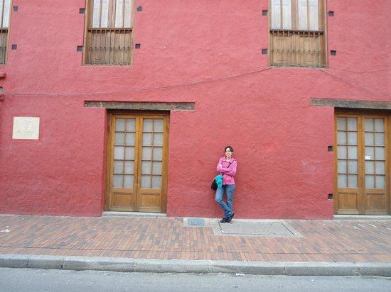 Barrio La Candelaria: Hermosa fachada