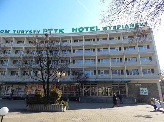 Hotel Wyspianski: Front view