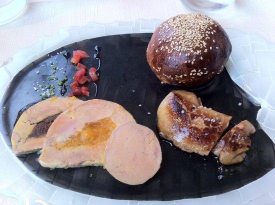 Chez le Per'Gras : trilogie de foie gras