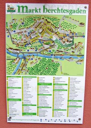 Goldener Bar : Area Map