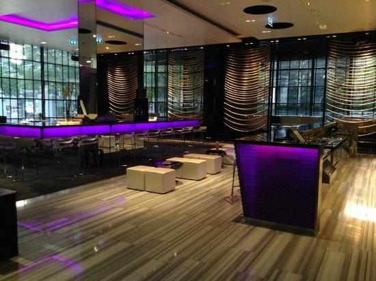 W Bangkok: lobby/living room