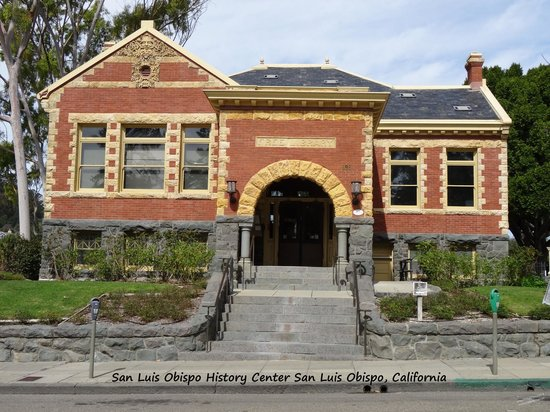 History Center and Museum of San Luis Obispo County: Take time and look at the building