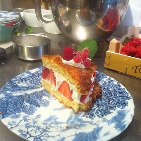 Catherine Reed Cooking Classes : strawberry shortcake