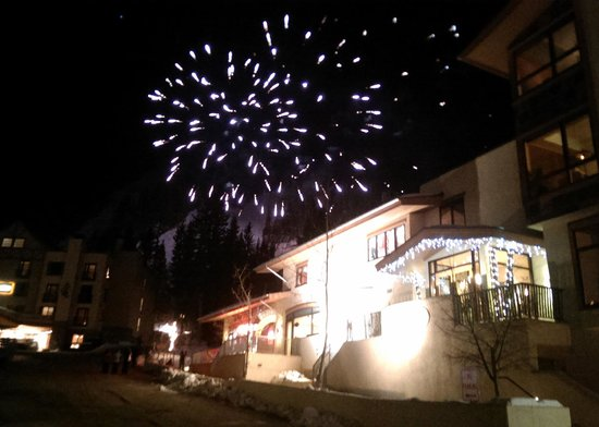 Taos Ski Valley: Ernie Blake birthday fireworks.