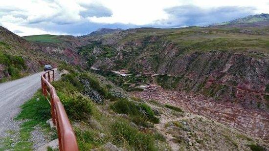 Salinas de Maras: At the salt flats
