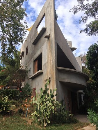 Hix Island House: Casa Triangular
