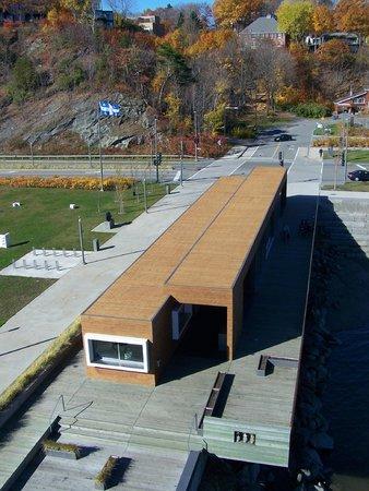 La Promenade Samuel-De Champlain: La station des Cageux, Promenade Samuel-de-Champlain