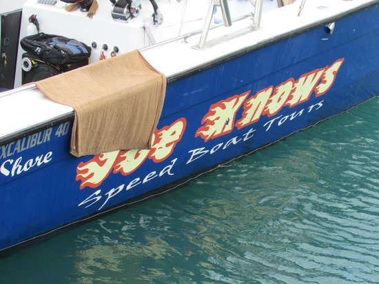 Joe Knows Tours: Our Boat