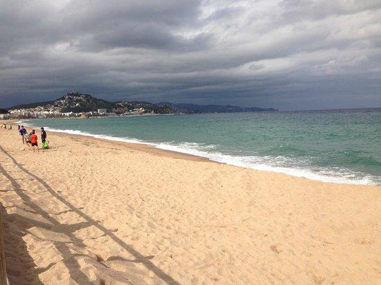 Пляж бланеса фото