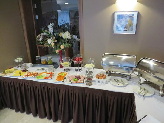 Astor Riga Hotel & Conference: Breakfast part 1