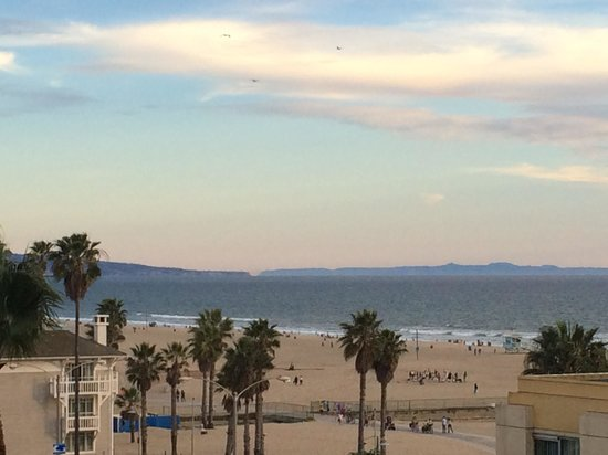 JW Marriott Santa Monica Le Merigot : View from our room.