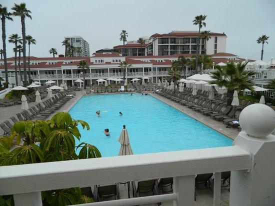 Hotel del Coronado: piscina do hotel