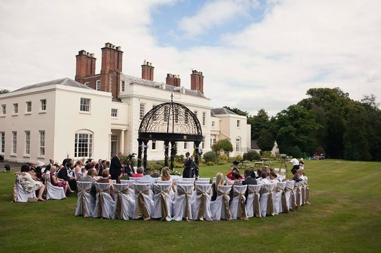 Haughton Hall: our outside ceremony