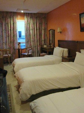 Oum Palace Hotel : Værelse