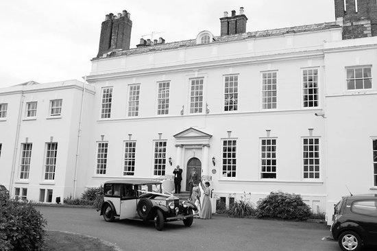 Haughton Hall: front of building