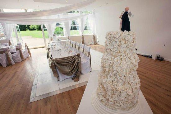 Haughton Hall: top table