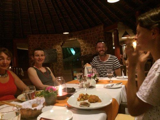 SwaSwara: I met many friends and we enjoyed the fantastic cuisine together