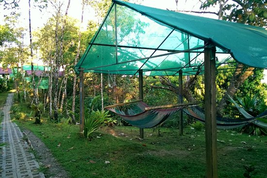 Jade Mar Lodge Cabins : Hammocks