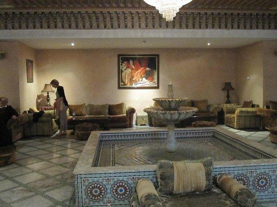 Zalagh Parc Palace: Reception