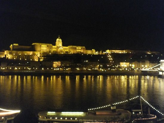 InterContinental Budapest: view from room