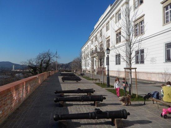Museum of Military History (Hadtorteneti Muzeum) : Entrance to the Museum