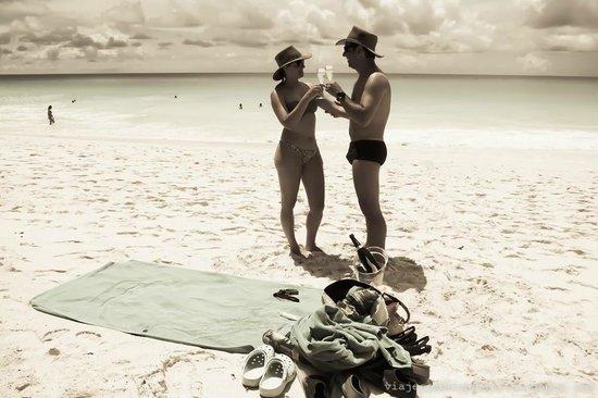 Constance Lemuria: More in Anse Georgette beach