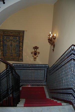 Casona de San Andres Hotel : L'interno dell'albergo