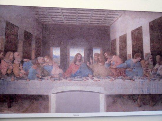 La Cène (Léonard de Vinci) : poster