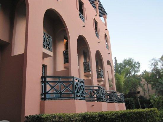 Hotel Marrakech le Tichka: Hotellet udefra
