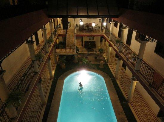 hotel colonial la aurora : Nice pool!