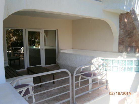 Taino Beach Resort & Clubs: Balcony