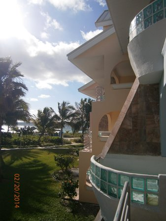Taino Beach Resort & Clubs : Another view from the Balcony