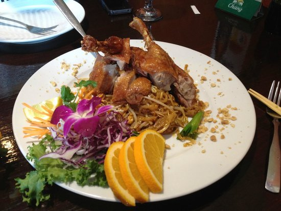 Malakor Thai Cafe: Duck