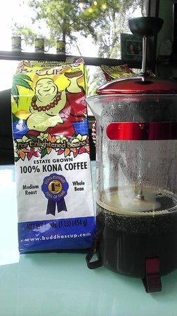 Buddha's Cup Coffee Estate: Award winning Coffee sample from Buddhas Cup!