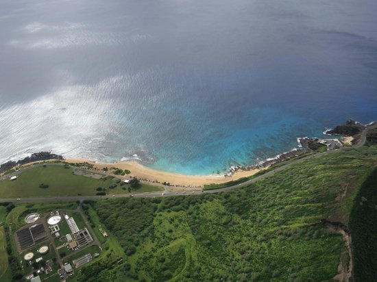 Genesis Helicopters: One of the many beach shots