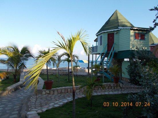 Samsara Cliffs Resort: view from our porch
