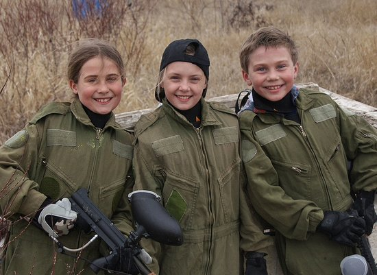 Rock Ridge Paintball and Laser Tag Games: Fun for all ages!