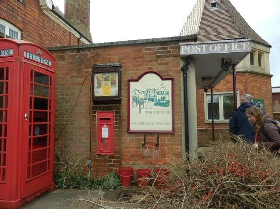 Bletchley Park : The Post office