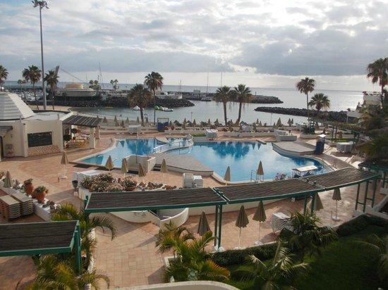 HOVIMA La Pinta Beachfront Family Hotel: Widok z balkonu