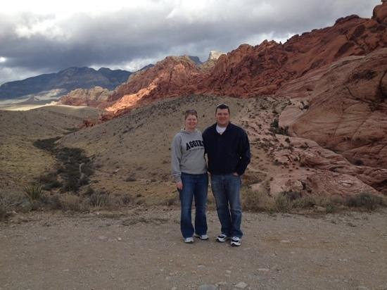 Pink Jeep Tours Las Vegas : Calico hills in Red Rock Canyon