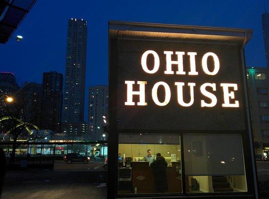 Ohio House Motel : View of reception area