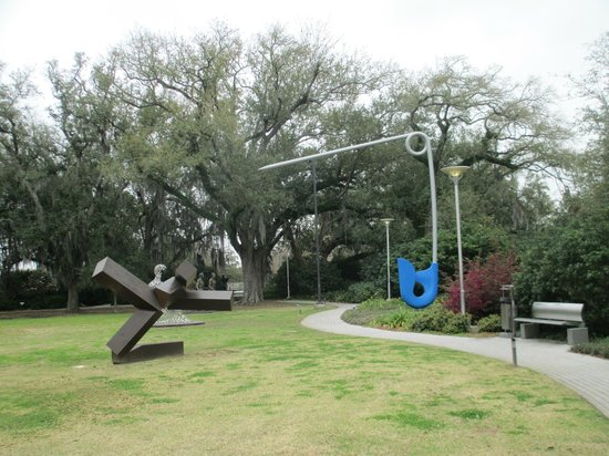 Ok we had to get this one picture of new orleans city park new orleans tripadvisor for New orleans city park sculpture garden