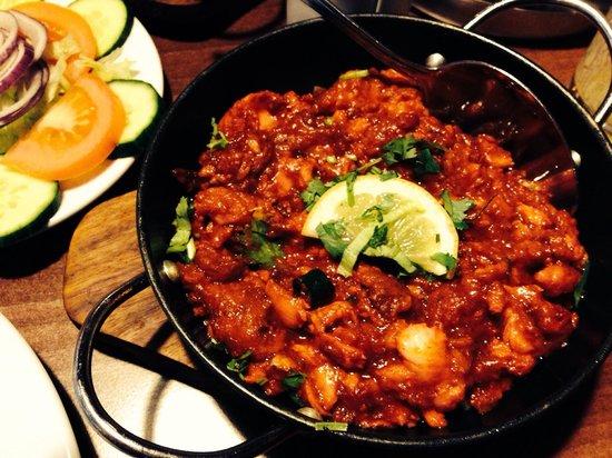 Zauk Lounge and Restaurant: Fish balti very fresh perfectly spiced