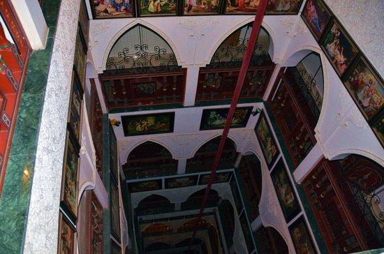 Moroccan House Hotel Casablanca : Вид сверху