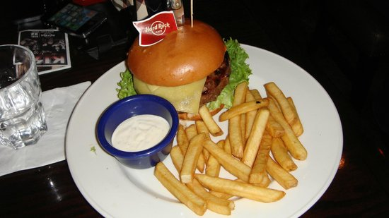 Hard Rock Cafe Paris : Hamburger