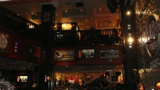 Hard Rock Cafe Paris : Interno