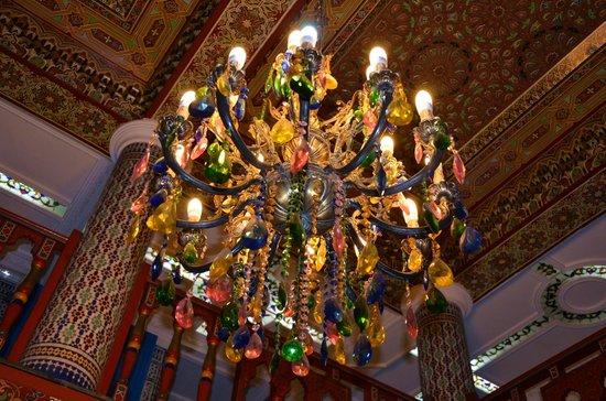 Moroccan House Hotel Casablanca: Люстра