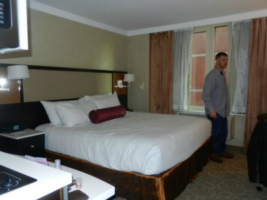 Staybridge Suites Times Square - New York City: our room was perfect