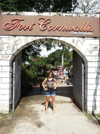 Fort Cornwallis : August 2013